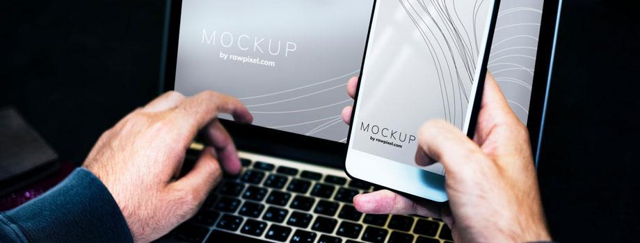 laptop and smartphone 1 - 3 Tendencias que Cambiarán el Futuro de los Videojuegos